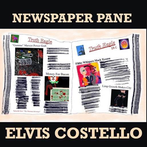 """Elvis Costello, esce """"Newspaper Pane"""", nuovo singolo del cd di prossima pubblicazione"""